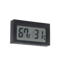Wholesale Electronic New LCD Digital Indoor Humidity Thermometer Hygrometer Meter Mini Portable Weather Station Wireless Barometer