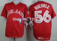 authentic mark buehrle jersey - 2015 New Mark Buehrle Red Canada Day Cheap Authentic Toronto Blue Jays Jersey Stitched Mens Baseball Jerseys New Arrival