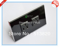 Wholesale US Standard Wall Power Socket White Black Color Manufacturer of A Wall Outlet