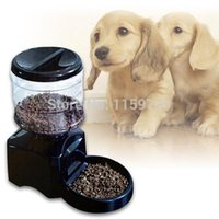 dry dog food - LARGE L AUTOMATIC DIGITAL PET FEEDER AUTO CAT DOG DRY FOOD DISPENSER