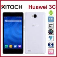 Wholesale Original Smart Phone Huawei Honor C GB RAM IPS MTK6592 Octa Core GB ROM MP Camera Android Dual SIM G Cell Mobile Phone