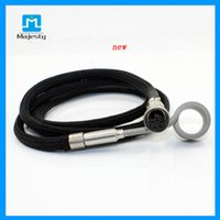 air water heater - Top Selling W V Enail Coil Heater XLR Air Plug Barrel mm mm Flat Coil Heater For Glass Water Pipe