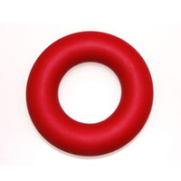 Wholesale Red Sport Brand Muscle Power Training Rubber Ring Exerciser Gripper Fashion KG cm Strength Finger Hands Grip Free Ship