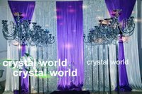crystal candelabra - tall five arms crystal candelabras for1177 home weeding and chrimas day decoration