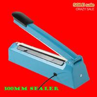 Wholesale Aluminum bag capping sealer manual plastic package sealing tools machine electrical mm mm impulse packaging equipment