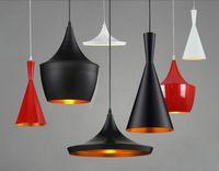 Wholesale Tom Dixon Design Fixture Luminiare hanging Light E27 bulb Chandelier musical instrument restaurant Home ceiling LED Pendant lamp