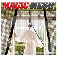 Wholesale New Magic Mesh Hands Free Screen Door Magic mesh Magnetic Anti Mosquito Bug Great For Pets