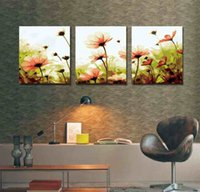oil paint by numbers - 3pcs set Handicraft Modern Wall Decoration Abstract Art Canvas Oil Painting DIY Digital Oil Painting by Number cm