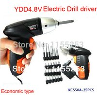 Wholesale 4 V DIY Electricity Rechargeable Upgrade Screwdriver Rechargeable drill electric screwdriver Electric Drill driver order lt no track