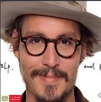 Wholesale Brand Johnny Depp Glasses Men Women Optical Eyeglasses Myopic Glasses Frame High Quality Oculos de grau reading glasses