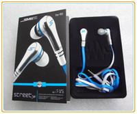 achat en gros de 50 cent headphones-SMS mode audio 50 cent In-Ear Mini 50 cent avec micro et bouton mute écouteur STREET de 50 Cent earbud 3 couleurs MQ10