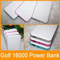 golf battery - Golf Power bank mah Portable Charger Design Backup Powers External Battery Charger for cell phone ipad pad With Retail Box Fedex Free