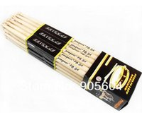 Wholesale 6 Pair A Music Band Maple Wood Drum Sticks Drumsticks