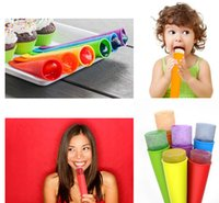 Cheap Ice Cream moulds Best Silicone Ice Lolly Pop