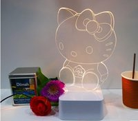 art design lampe - 2015 CNHidee design lampe Art Desk Lamp Luminarias Hot d For Hello Kitty Led Touch Decorative Talbe Lamp
