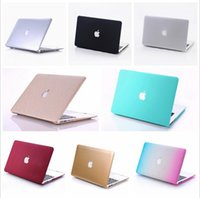 Wholesale Top quality hard frosted plastic protective case shell for Macbook Air Pro inch
