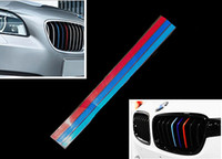 Wholesale New Color Grille Grill Vinyl Strip Sticker Decal For BMW M3 M5 E36 E46 E60 E90 E92 M2151