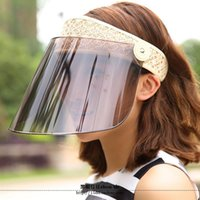 bicycle protection - color Summer outdoor women riding electric motorcycle or bicycle sunshade hat UV face rain hat and sunscreen