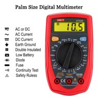 Wholesale New UT33D Palm Size Digital Multimeter DC AC Voltage DC Current Resistance Temperature Tool for Maintenance