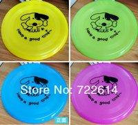 beach dog toys - Pet Dog Training Frisbee Toys Cat Frisby Flying Soft Plastic Disc Garden Beach Flyer Toy