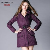 arm hats - Long women winter coat and jacket thick long arms warm wadded jacket thickening long winter down coats plus size L XL XXL