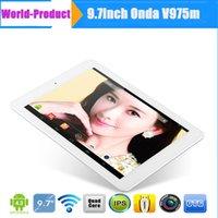 Wholesale Android Quad Core Onda V975m inch Retina Screen mm G GB GHz Tablet PC Dual Camera HDMI OTG Bluetooth Ultra Thin Tablet