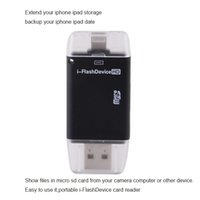 backup storage devices - Micro sd Portable i FlashDevice HD Card Reader OTG storage for iPhone6 for ipad for iPod Touch show files and backup your device