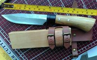 Wholesale 10 Handmade High carbon Damascus Forged Steel Sharp Fixed Hunting Knife VTH83