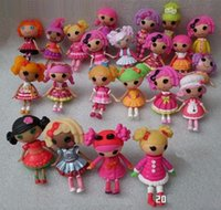 Wholesale 2015 New MGA Mini inch Lalaloopsy Doll The Bulk Button Eyes toys for girls Classic Unique doll Brinquedos