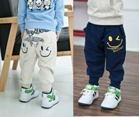 Wholesale 2016 New Children baby Kids Boys Spring Autumn Child Pants Loose Casual Cotton Pants Sports Trousers Harem Pants to years old