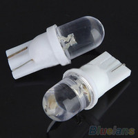 Wholesale 10Pcs High Quality White LED Side Car Auto Wedge Dashboard Light Lamp Bulb V OUL