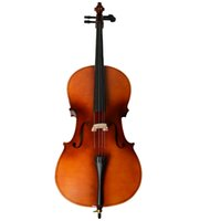 Wholesale New Wood Color Size Professional Cello with Bow Rosin Soft Bag High Quality Acoustic Cello