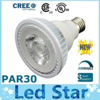 led - CSA UL Approved Dimmable PAR30 W Led Light Bulbs Lamp COB E27 E26 Led Spotlight lm Angle Warm Natrual Cold White AC V