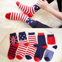 100 % wool socks - 5 Pairs New Wool Socks Men High Quality Sox Socks Classic Flag Style Winter Warm Socks