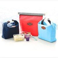 2015 moda de los tejidos de Poliéster de Aluminio de aislamiento Impermeable bolsa de almuerzo Térmica Enfriador Aislado de Picnic de la Bolsa de Bolsa de bolsa de la tienda de la lonchera 31215