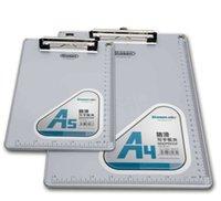 aluminum clipboards - Top grade folder tablet writing clipboard C1085 High quality folder A4 writing powder suspension aluminum alloy powder