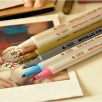 Wholesale Full shipping authentic STA Costa DIY metal pen photo pen paint pen color options
