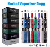 hot - 2016 Hot Sale Snoop dogg dry herb vaporizer kits glass atomizer e cig kits mAh Herbal Dry Herb Atomizer colors fast shipping