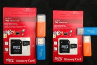 Cheap Free shipping 2015 High speed Class10 micro sd card memory card with TF card reader 128GB