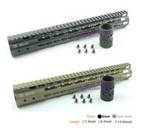 7.0 inch - Keymod NSR Handguard Aluminum Inch tactical quad rail for airsofts m4 ar15 m16
