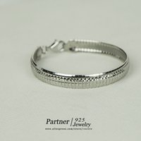 Cheap Classic Chinese Style 925 Sterling Silver Round Bangle Women Jewelry Mothers' Gift Fashion Party Bracelet New Arrival Freepost 3739375834503