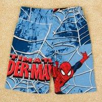 20pcs nova marque l'été 2015 enfants short bande dessinée Spiderman imprimé garçons short pantalon vêtements de bébé à bas prix Shorts occasionnels en stock