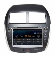 ASX asx video - 4 Core Android HD din quot Car Radio Car DVD GPS for Mitsubishi ASX With G WIFI Bluetooth IPOD TV USB AUX IN