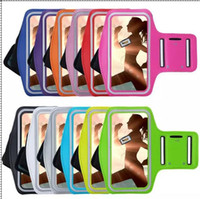 arm skin sleeves - Luxury Armband Case Waterproof Arm Holder Bag Running Gym Sport For Iphone S Plus C G S G S Ipod Touch Sleeve skin