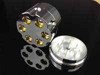achat en gros de nouveaux modèles de balles-Nouvelle conception Bullet Shape Herbal Herb Grilleuse de tabac Materal Smoke Grinders main Muller Magnetic