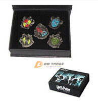 Wholesale 2015 new kids Novelty toys Harry Potter Hogwarts badge boys girls harry college Gryffindor Ravenclaw Hufflepuff pin J012202