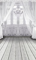 Wholesale 6 Ft Ft Cm Cm Fundo White Chandelier Doors Windows Wood Floor d Baby Photography Backdrop Background S