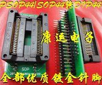 australia test - High quality gold plated needle ic testing seat adapter psop44 sop44 dip44 socket programmer ic test seat adapter
