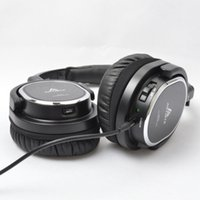 active noise reduction headphones - Active noise reduction Headset wearing soundproof large earmuffs headphone with microphone for mobile phone and computer