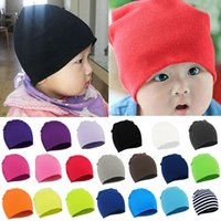 Wholesale 2015 Fashion Style New Unisex Newborn Baby Boy Girl Toddler Infant Cotton Soft Cute Hat Cap Beanie Cindy Colors